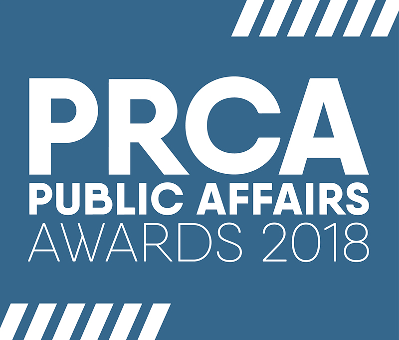 PRCA Public Affairs Awards 2018